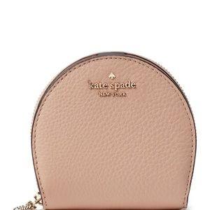 kate spade • Women's half-moon leather wallet